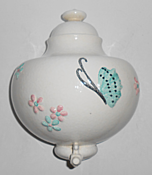 Hull Art Pottery Butterfly Lavabo Upper Tank Mint
