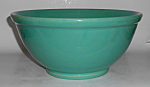 Bauer Pottery Plain Ware Jade #6 Mixing Bowl