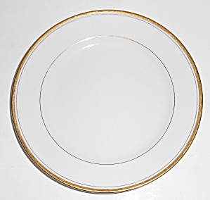 Noritake Porcelain China Goldlane 5084 Bread Plate