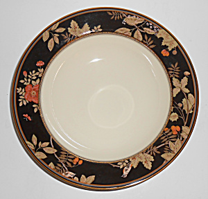 Mikasa Fine China Ivory Lavish Meadow Vegetable Bowl