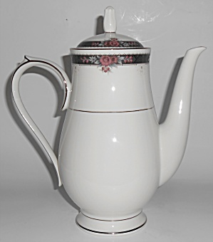 Noritake China Porcelain Etienne Coffeepot