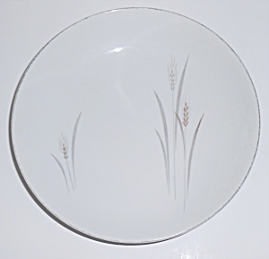 Fine China Of Japan Platinum Wheat Soup Bowl