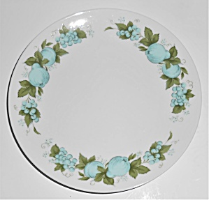 Noritake Porcelain China 6695 Blue Orchard Bread Plate