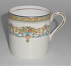 Aynsley China Porcelain Henley Demitasse Cup