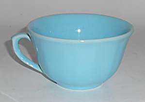 Catalina Island Pottery Turquoise 8-sided Cup