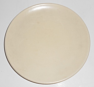 Catalina Island Pottery Ivory Coupe Plate