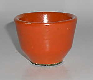 Catalina Island Pottery Toyon Red Nut Cup