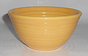 Bauer Pottery Ring Ware Yellow #36 Mixing Bowl Mint