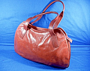 Hobo International Large Red Leather Bag