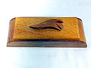 Hand Made Wood Trinket Box
