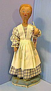 Folk Art Doll Fairfield La Habra California 20 Inch