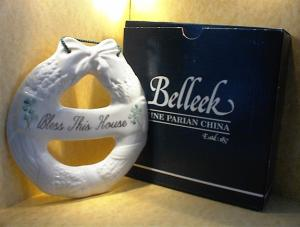 Belleek Porcelain Bless This House
