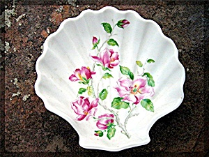 French Limoge Porcelain Shell Dish.