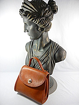 Bag Coachleather British Tan Small Purse