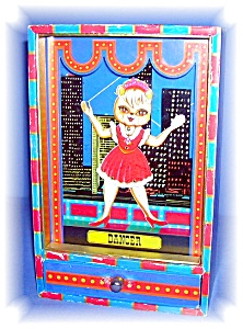 Vintage Dancing Doll Music Box