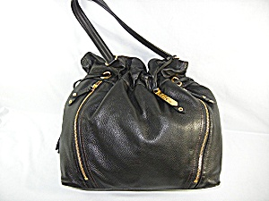 Bag Purse Cole Hahn Black Leather Dust Bag