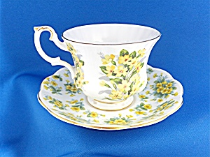 Royal Albert Cup And Saucer Nell Gwynne Series - Drury