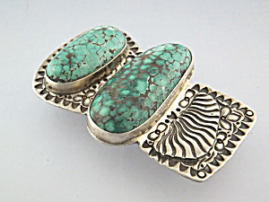 David Troutmanmoney Clip Sterling Silver Turquoise