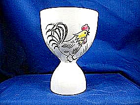 Ceramic Rooster Egg Cup