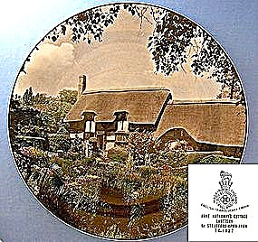 Royal Doulton Anne Hathaway's Cottage Plate