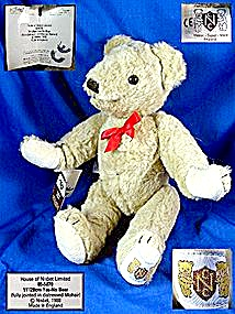 Nisbet Yes - No Teddy Bear 1988 Made In England