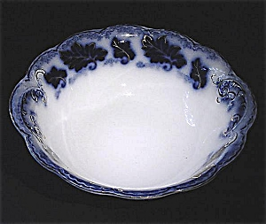 Flow Blue: Normandy Large Serving Bowl