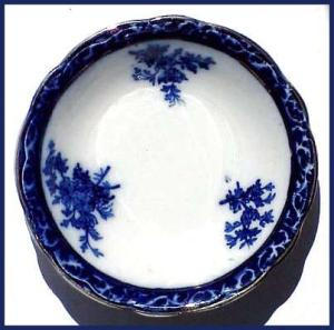 Flow Blue: Touraine Berry Bowl