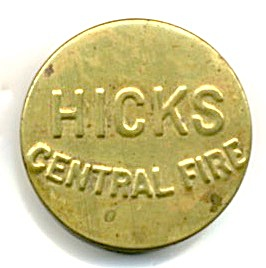 Brass Hicks Central Fire Primers Percussion Cap Tin