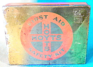 Vintage Hoyts First Aid Tin