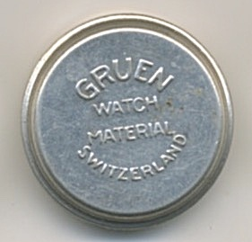 Vintage Gruen Watch Aluminum Container
