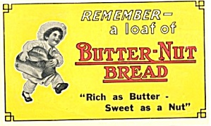 Vintage Butter-nut Bread Advertising