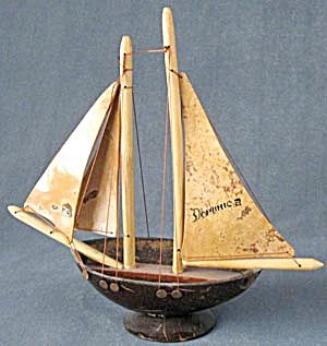 Sailboat Souvenir From Dominica