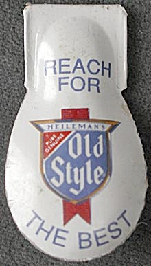 Vintage Heileman's Old Style Beer Advertising Clicker