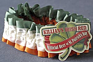Vintage Killian's Irish Red Beer Garter
