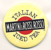 Martini & Rossi Rosso Iced Tea Pin