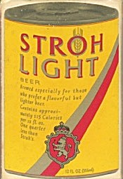 Stroh Light Beer Bridge Playing Cards