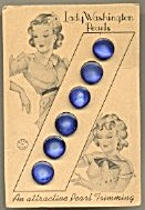 Lady Washington Blue Pearls Set Of 4