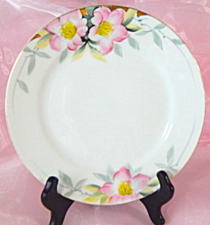 Vintage Noritake Azalea Luncheon Plates Set Of 7