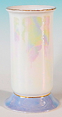 Vintage Pearlescent German Vase