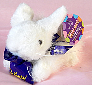 Cadbury White Bunny Plush With Clucking Sound