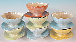 Vintage Royal Winton Grimwades Lusterware Lotus Bowls