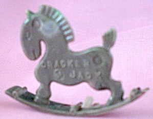 Cracker Jack Toy Prize: Horse Rocker