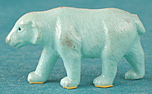 Vintage Celluloid Polar Bear