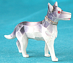 Vintage Celluloid Deco Dog