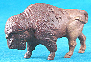 Vintage Celluloid Toy Bison/buffalo Rattle