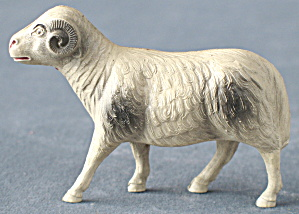 Vintage Celluloid Toy Ram Couple