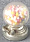 Vintage Miniature Counter Top Gumball Machine