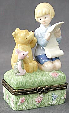 Pooh Christopher Robin & Piglet Easter Adventure Box