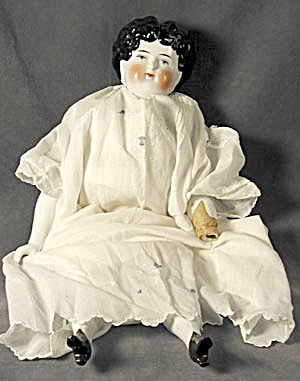 "China Doll/ Antique #8 16"" Tall"