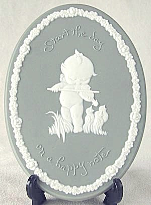 Kewpie Plaque Start The Day On A Happy Note
